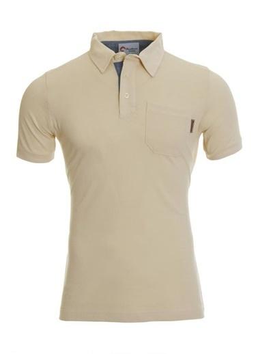 Panthzer  Tulita Erkek Polo Yaka T-Shirt Bej